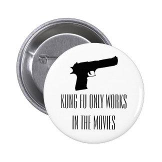 El fu de Kung trabaja solamente en el botón de las