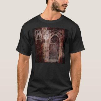 El fuego de los hombres dentro de la camiseta