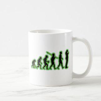 El fumar taza de café