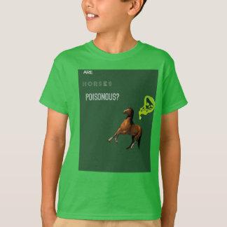 El funcionario es caballos venenosos camiseta