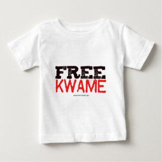 ¡El funcionario LIBERA KWAME! Camiseta De Bebé