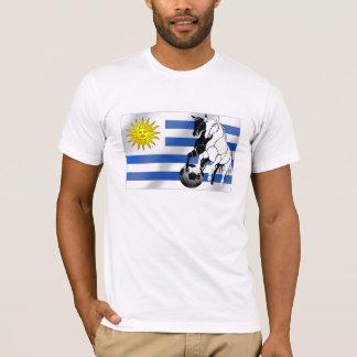 El futbol 2010 de Charruas del fútbol de Uruguay Camiseta