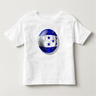 El futbol de cinco estrellas del balón de fútbol camiseta de bebé