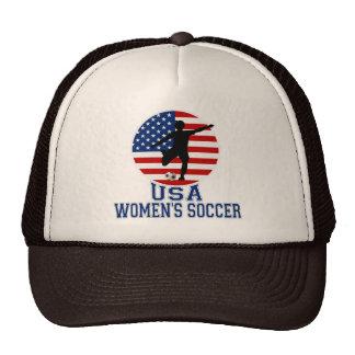 El fútbol de las mujeres de los E.E.U.U. Gorro