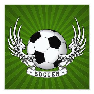 El fútbol del fútbol se va volando la invitación
