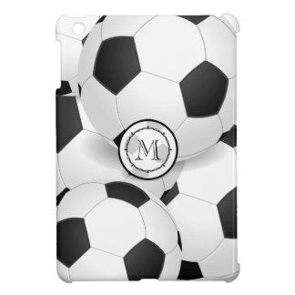 El fútbol del monograma se divierte el mini caso