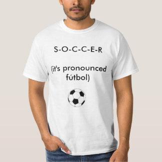 El FÚTBOL es FUTBOL Camiseta