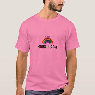 el fútbol es gay camiseta