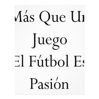 EL Futbol Es Pasion de la O.N.U Juego del Mas Que Folleto 21,6 X 28 Cm