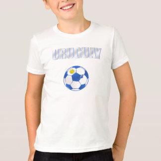 El futbol fresco de la bola de Uruguay aviva el Camiseta