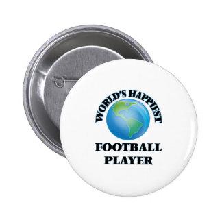 El futbolista más feliz del mundo chapa redonda 5 cm