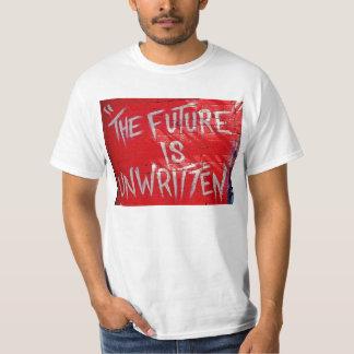 """""""El futuro es no escrito """" Camiseta"""