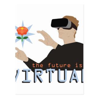 El futuro es virtual postal