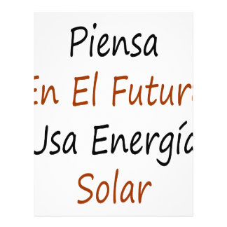 EL Futuro los E.E.U.U. Energia del En de Piensa so Tarjeton