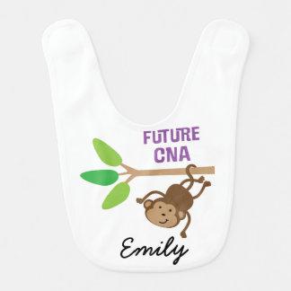 El futuro PUEDE babero personalizado del bebé