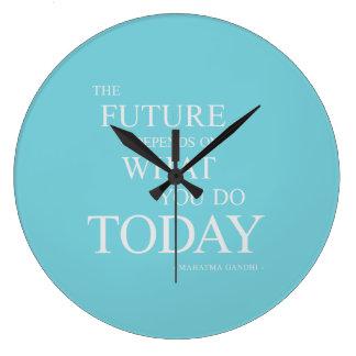 El futuro que inspira el reloj de motivación del