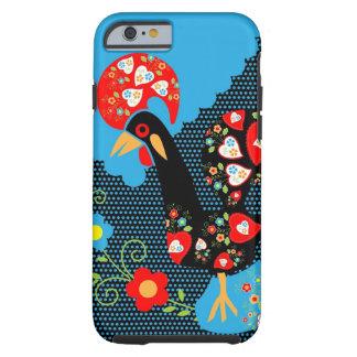 El gallo portugués funda de iPhone 6 tough