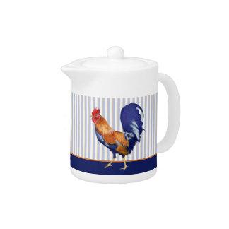 El gallo raya la tetera