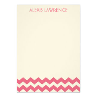 El galón rosado moderno toda la ocasión le invitación 11,4 x 15,8 cm