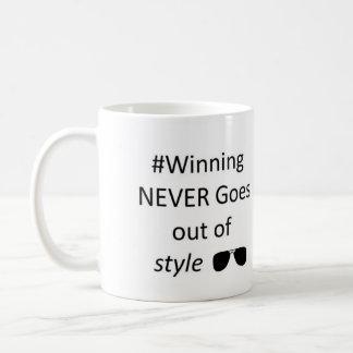El ganar nunca sale de la taza del estilo