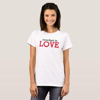 El ganchillo es camisa del amor