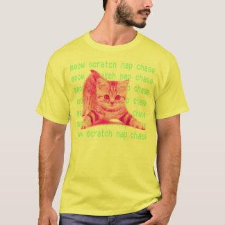 el gatito hace camiseta
