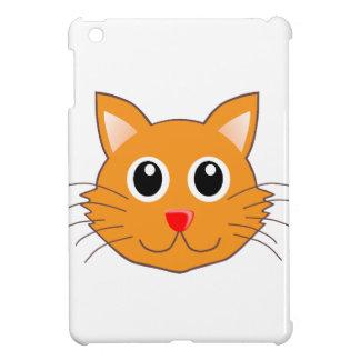 El gato anaranjado con la nariz roja