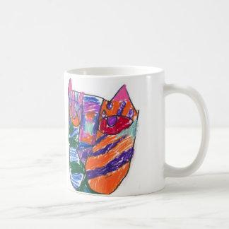 El gato de Caitlyn Taza De Café
