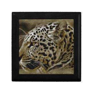 El gato de Jaguar mancha safari de la naturaleza d Cajas De Regalo