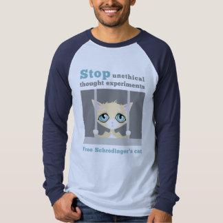 El gato de Schrodinger libre Camisetas