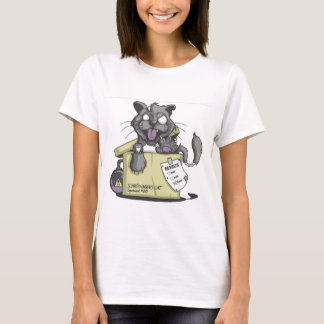 El gato de Schrodinger - nuevo Camiseta