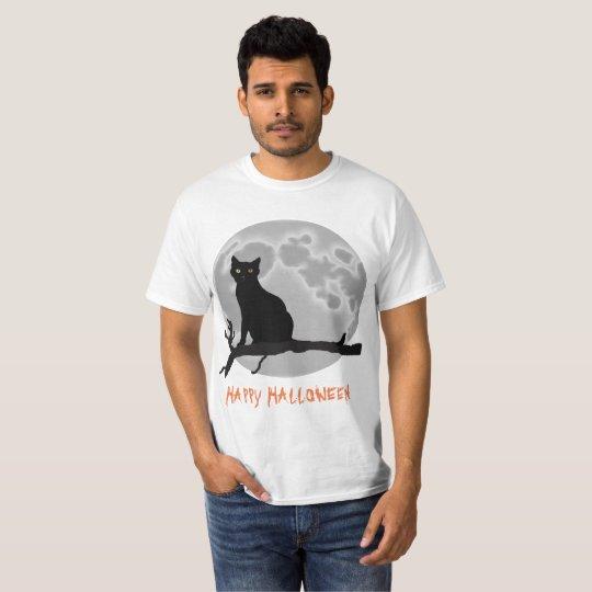 El gato negro camiseta