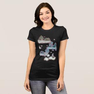 El gato soña la camiseta (los colores alternos)