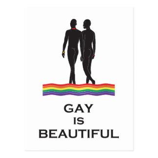 El gay es hermoso postal