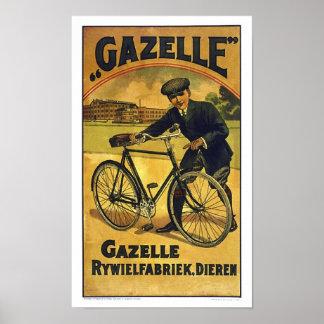 El Gazelle completa un ciclo el poster fino de la Póster