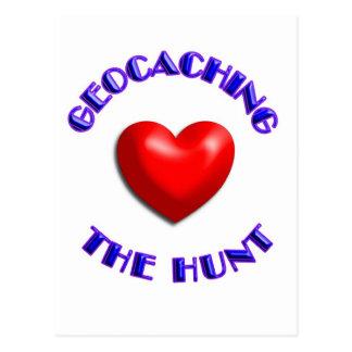 El geocaching del amor y la caza postal