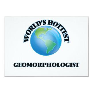 El Geomorphologist más caliente del mundo Invitación 12,7 X 17,8 Cm