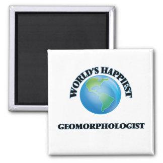 El Geomorphologist más feliz del mundo Imán Cuadrado