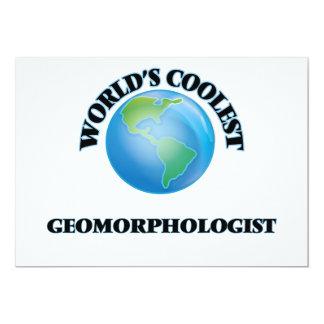 El Geomorphologist más fresco del mundo Invitación 12,7 X 17,8 Cm