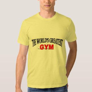El gimnasio más grande del mundo camisetas