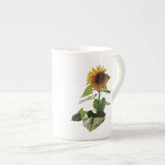 El girasol grande taza de té