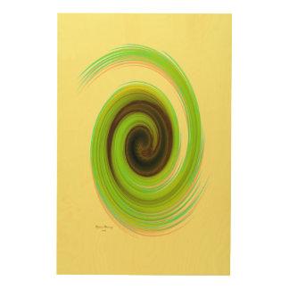 El giro, w6.4 impresión en madera