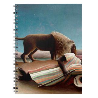 El gitano durmiente cuaderno
