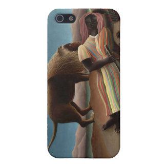 El gitano durmiente, Henri Rousseau iPhone 5 Coberturas