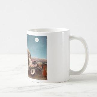 El gitano durmiente taza de café