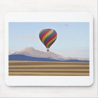 El globo y Colorado del aire caliente desea pico Tapete De Ratón