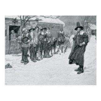 El gobernador del puritano postal