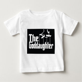 EL GODDDAUGHTER RETRO CAMISETA DE BEBÉ