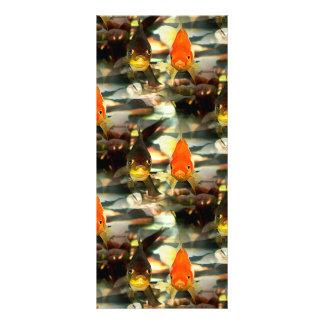 El Goldfish de lujo hace frente a imagen de la Tarjeta Publicitaria