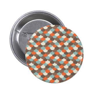 El Goldfish escala arte del vector Pins